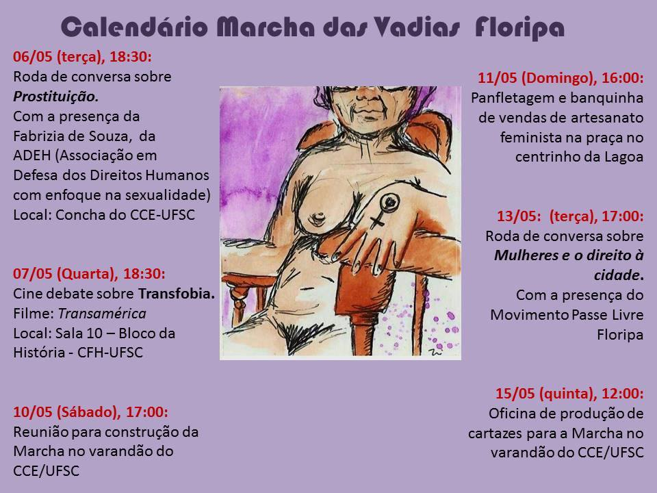 Marcha das vadias 2014